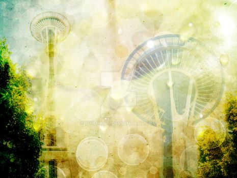 Space Needle by nyahkat