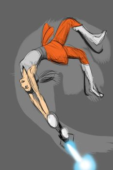 Portal 2 Somersault by iProton