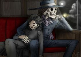 Skulduggery Pleasant - The Last Train by jameson9101322