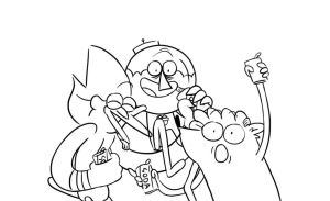 Something that will be forever unfinished by Cartoonishly