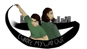 I Wrote My Way Out by AllisonMichelleCoon