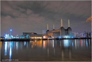 Battersea Power Station. by andy-j-s