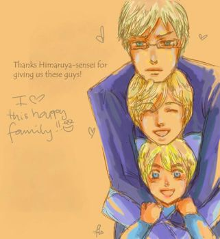 APH- happy family trio by Mannanan