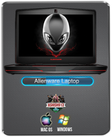 Alienware - Laptop Icon By Ashish913 by Ashish913