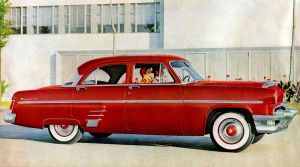 age of chrome and fins : 1954 Mercury by Peterhoff3
