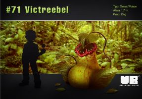 Victreebel in real life by Benjja1