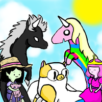 mixed-up adventure time by cloudsorcerer