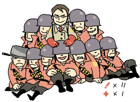 TF2:my ideal Team by togaco