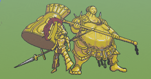 Ornstein and Smough - Dark Souls by BrokenToews