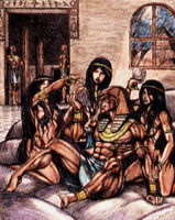 egypt orgy...or something by isreal76