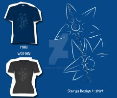 Staryu line T-shirt by UmbreoNoctie
