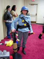 Team Fortress cosplayer at Sac-Con 2012 by DearestLeader