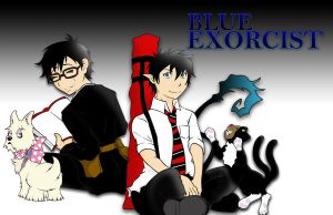 Blue Exorcist_brothers by bluepen731