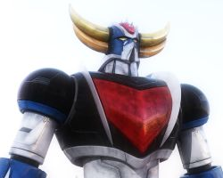 Grendizer-Goldrake Render Test by Zer013