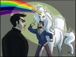 TW, Sterek Commission: Unicorn by Gone-Batty