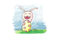 Tokomon upon an egg  by SofyTeddy