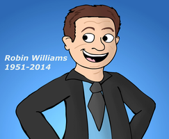 Robin Williams by ScoBionicle99