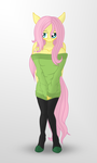 Fluttershy - Anthro by romus91