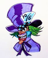 Mad Hatter by TheJokesOnYou
