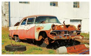 A Rusty Ford Car by TheMan268