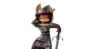 Cocoa warrior. by Skwareblox