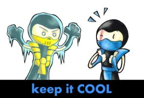 Keep it cool by I-Am-Bleu