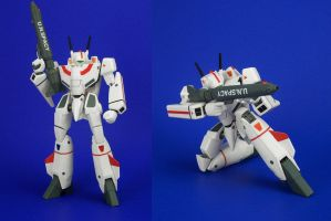 GN-U Dou - VF-1J by Lalam24