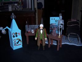 Doctor Who and The Mad Scientist Laboratory by MisterBill82