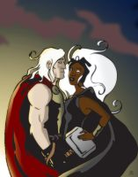 The Weather Witch and The God of Thunder by BlitheFool