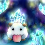 Poro the cute furball by Darklinknrone