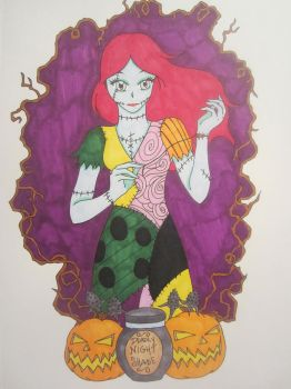 Nightmare Before Christmas Sally fan art by Namae2014