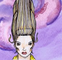 Toni And Guy Hair Illustration by grthink