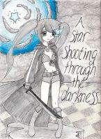Collab: Black Rock Shooter by Cherry-Chipmunk