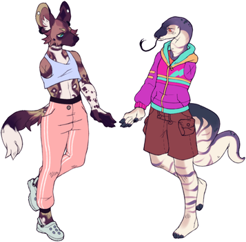 anthro adopts : closed by peach-water