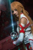Asuna - Luminous Sword by MaySakaali
