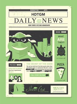 Slow News Day (TMNT - How Did This Get Made?) by Jurassickevin