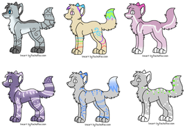 Simple wolf adopts by Icey-adopts