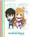 Tales of Xillia - Jude Mathis and Milla Maxwell by Rubensonps3
