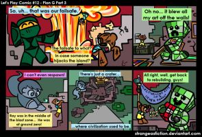 Let's Play Comic #12 - Plan G Part 3 by StrangeAsFiction
