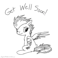 Get Well Soon Spitfire by DragonwolfRooke