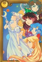 Sailor Moon : Inner Court by KuroiChoucho