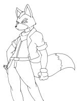 Fox Mccloud first attempt by Reagan700