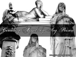 Cemetery Angels by ivy-poison