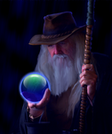 Crystal Ball by PeterPawn