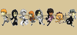 Stickers: Bleach 2 by forte-girl7