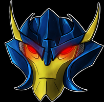 Dreadwing Helm by Laserbot