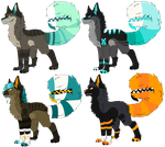 Mawtail Dog Adoptables [OTA, CLOSED] by Mulch-Adopts