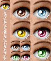 FREE EYES AVATAR PACK by MixedMilkChOcOlate