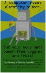 Eat Your Veggies, Robot by Avalai