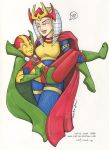 big barda and mr. miracle by katiecandraw